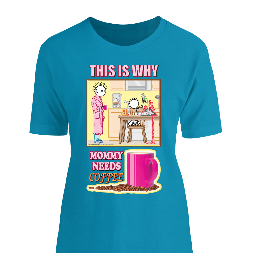 MOM SHIRT: This is Why Mommy Needs COFFEE