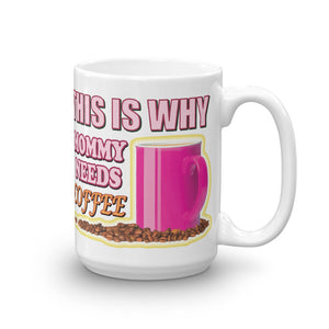 Mommy Needs Coffee – Large Mug