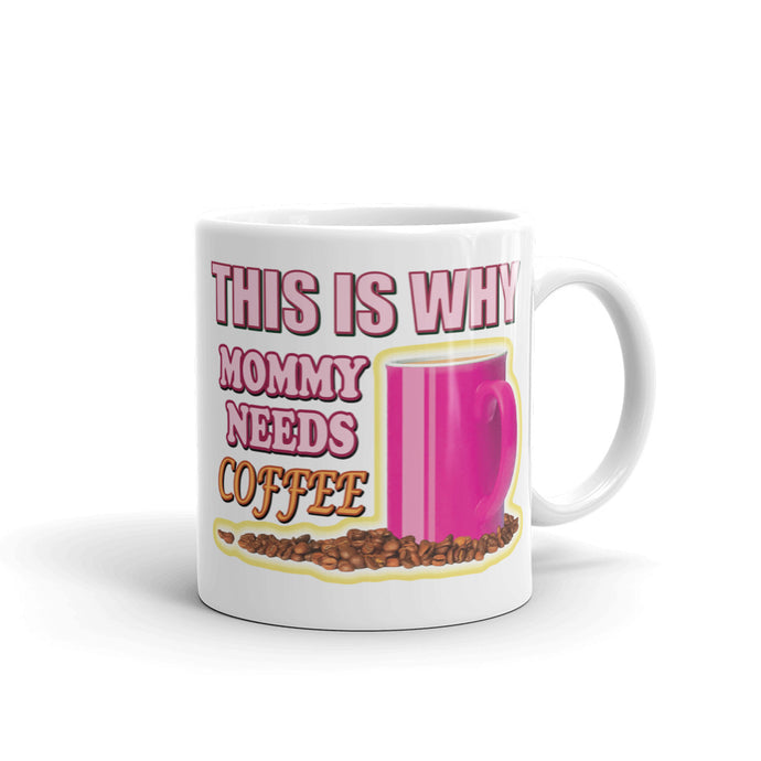Mommy Needs Coffee – Small Mug