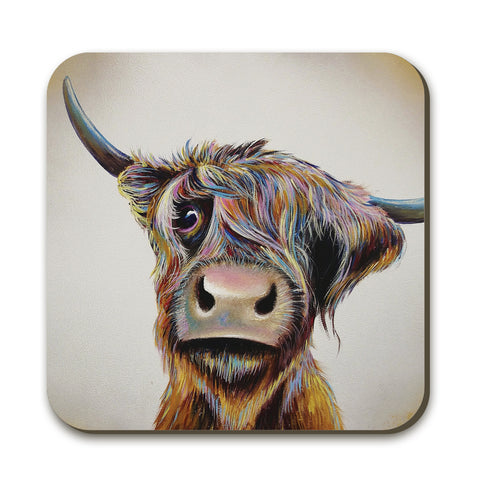 A Bad Hair Day Coaster by Adam Barsby