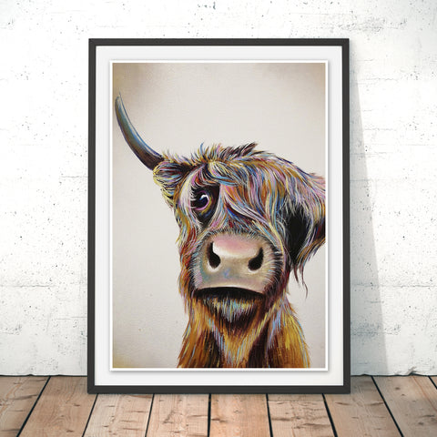 A Bad Hair Day Original Print by Adam Barsby