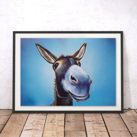 A Simple Smile Original Print by Adam Barsby