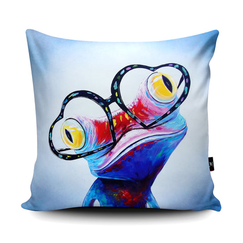 Love Struck Cushion by Adam Barsby