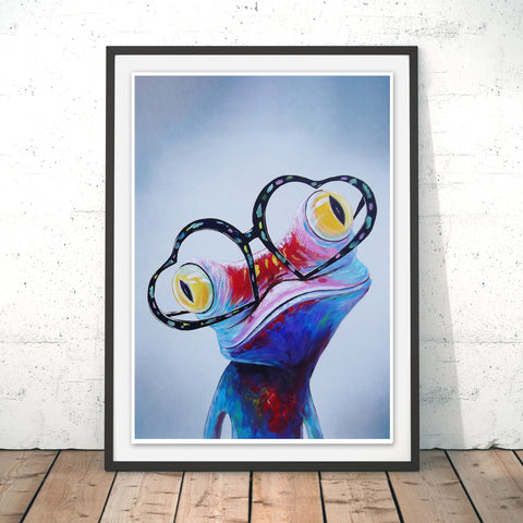 Love Struck Original Print by Adam Barsby