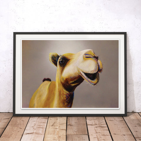 Never Gets The Hump Original Print by Adam Barsby