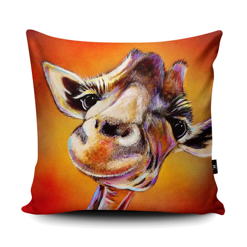 Smile High Cushion by Adam Barsby