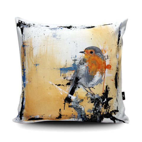 Just Saying Hello Cushion by Aidan Sloan