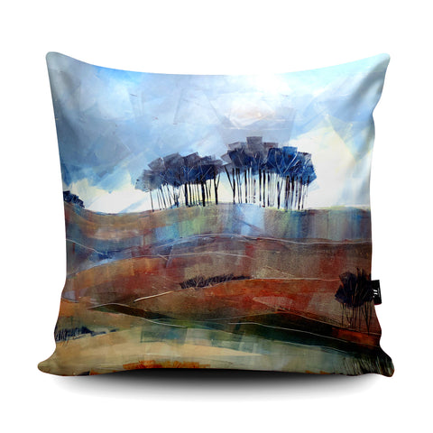 Beech Copse Cushion by Clare Buchta