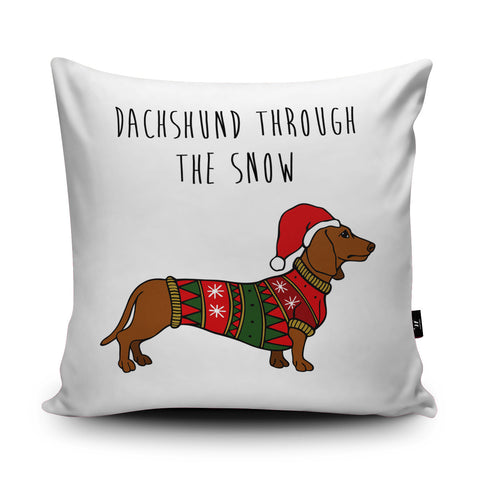 Dachshund Cushion by StoneFoxes