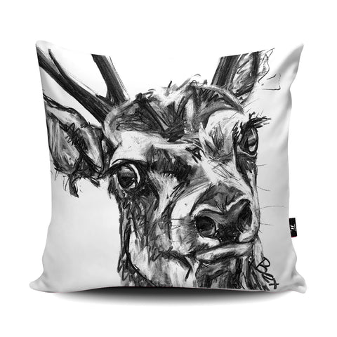 Deer Cushion by Bex Williams