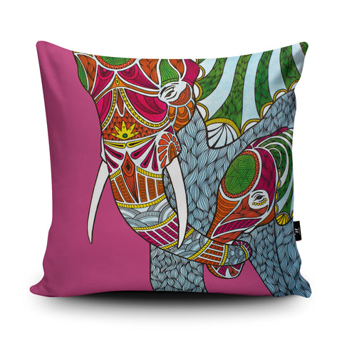 Elephants Cushion by Paul Robbins