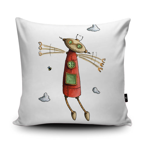 Fly Fly Fly Cushion by Amberin Huq
