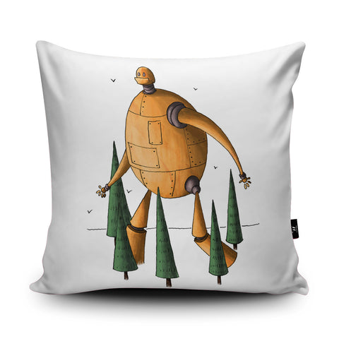 Forest Walk Cushion by Amberin Huq