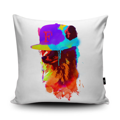 Foxey's Favourite Cushion by Robert Farkas