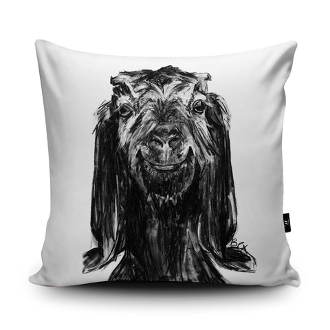 Goat Cushion by Bex Williams