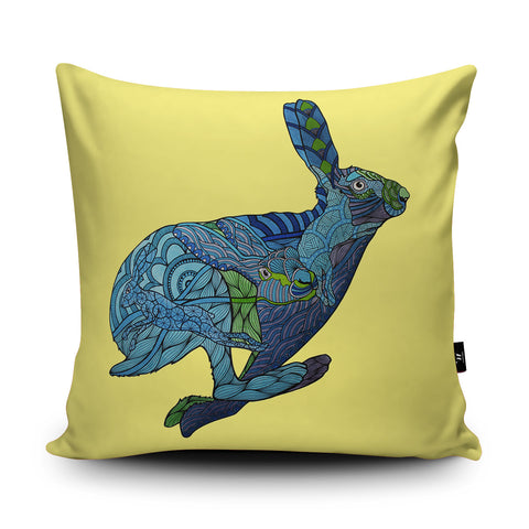 Hare Cushion by Paul Robbins