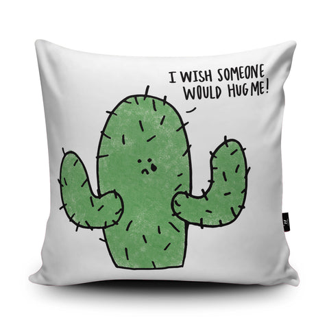Hug Me Cushion by Leeann Walker