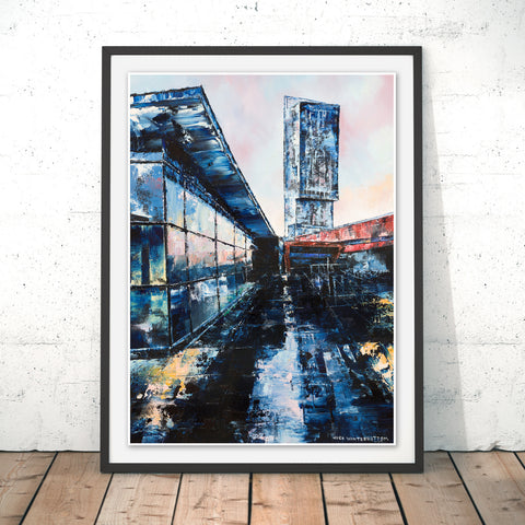 Beetham Tower, Manchester Original Print by Hugh Winterbottom