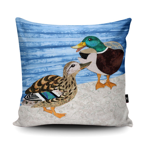 Duck Ditty Cushion by Kate Findlay