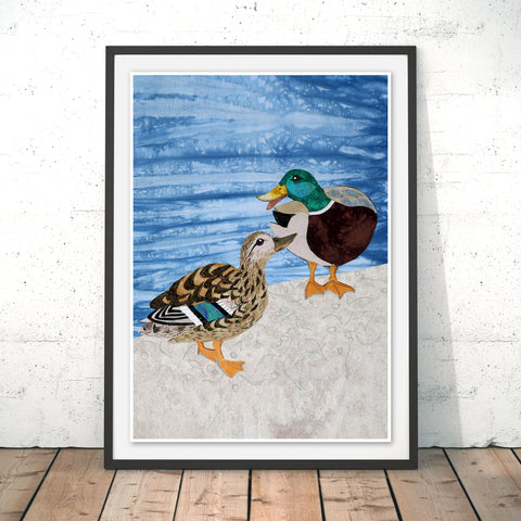 Duck Ditty Original Print by Kate Findlay