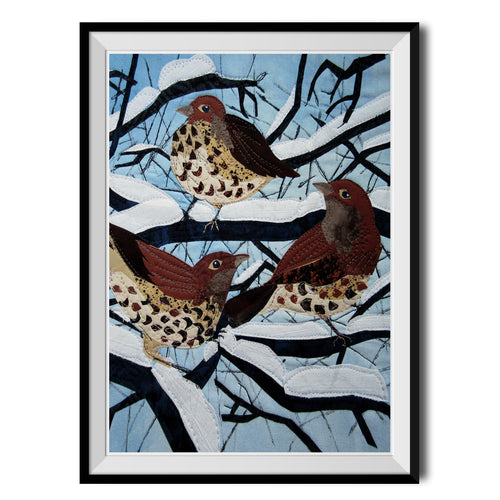 Thrushes Three