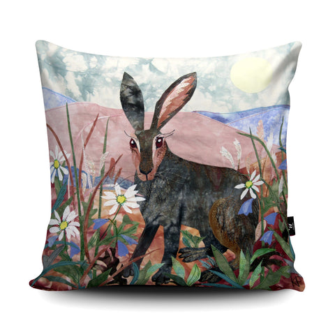 Noonday Hare Cushion by Kate Findlay