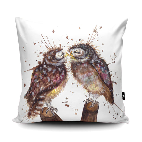 Splatter Loved Up Cushion by Katherine Williams