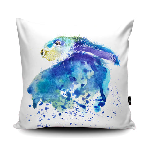 Splatter Rabbit Cushion by Katherine Williams