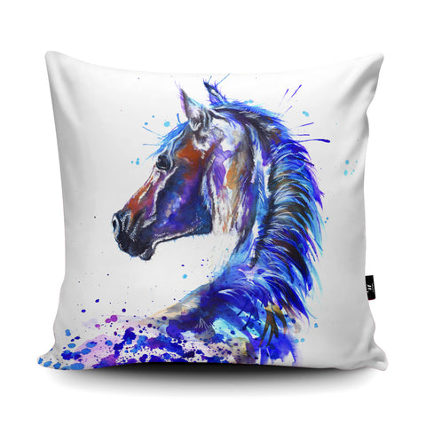 Splatter Stallion Cushion by Katherine Williams