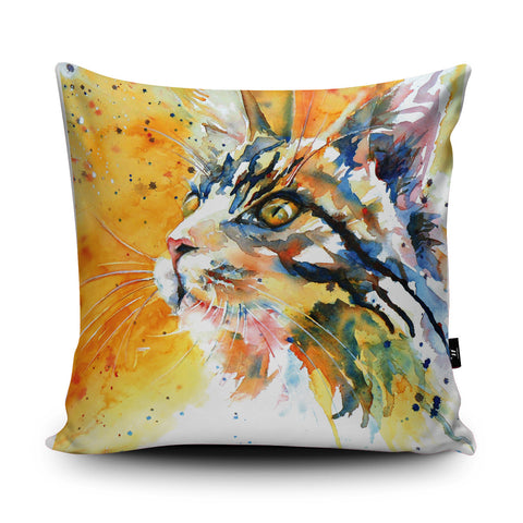 Cat's Eye Cushion by Liz Chaderton