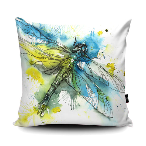 Chasing Dragons Cushion by Liz Chaderton