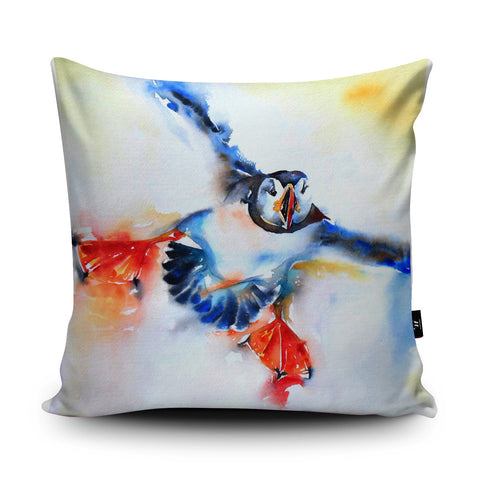 Coming in to Land Cushion by Liz Chaderton