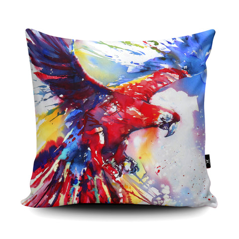 Flight of Fancy Cushion by Liz Chaderton