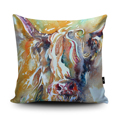 Highlander Cushion by Liz Chaderton