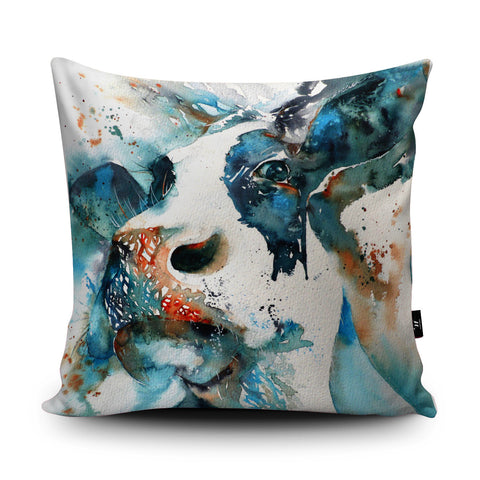 La Vache I Cushion by Liz Chaderton