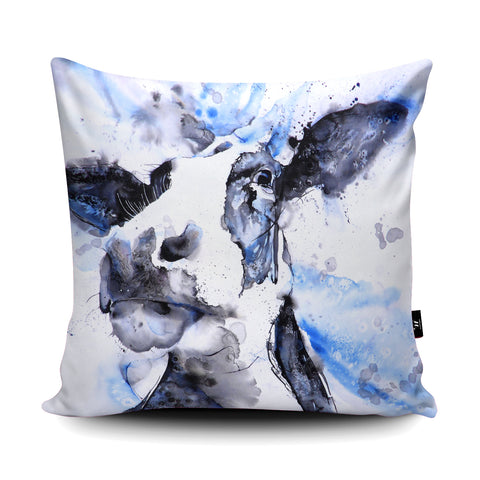 Moody Blues Cushion by Liz Chaderton