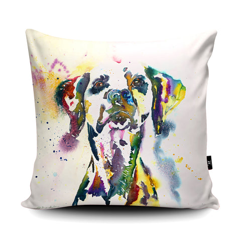 Not Black and White Cushion by Liz Chaderton