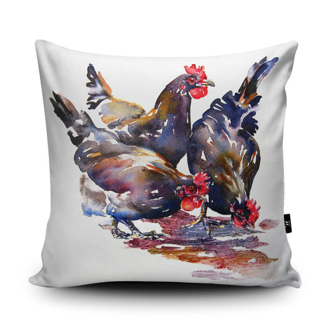 Our New Girls Cushion by Liz Chaderton