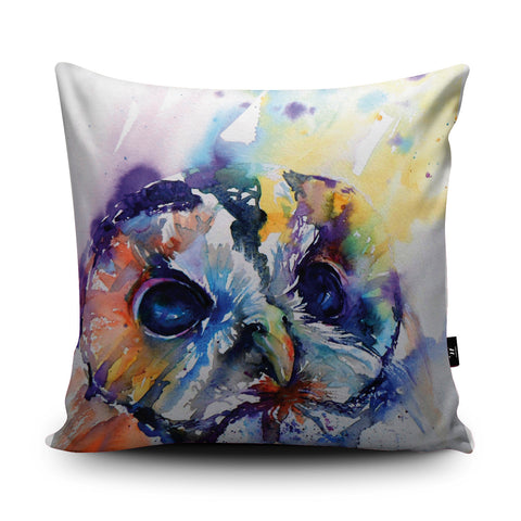 Tawny Owl Cushion by Liz Chaderton