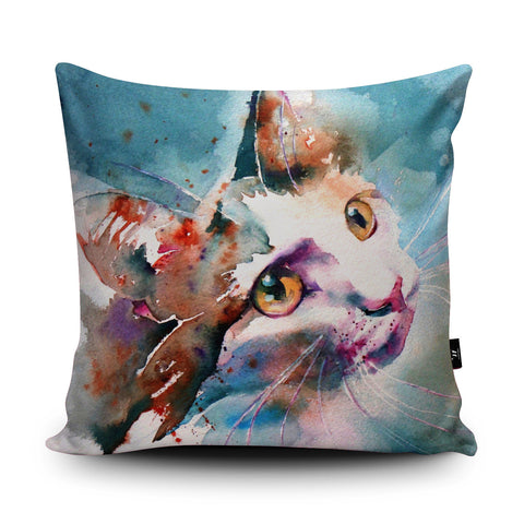 The Look of Love Cushion by Liz Chaderton