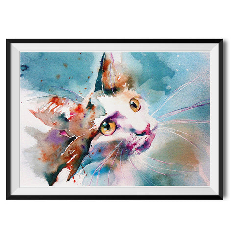 The Look of Love Original Print by Liz Chaderton