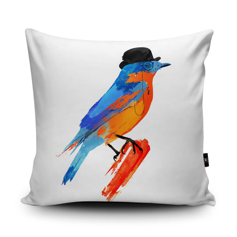 Lord Birdy Cushion by Robert Farkas