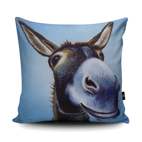 A Simple Smile Cushion by Adam Barsby