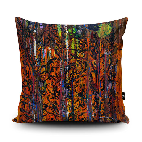 Magic Woodland Cushion by Peter Murray
