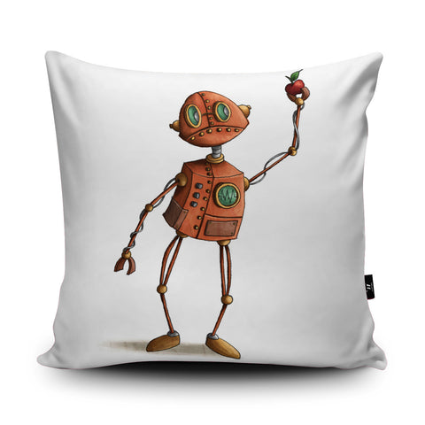 Mr Robot Cushion by Amberin Huq