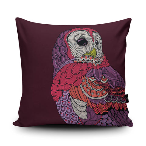 Night Owl Cushion by Paul Robbins