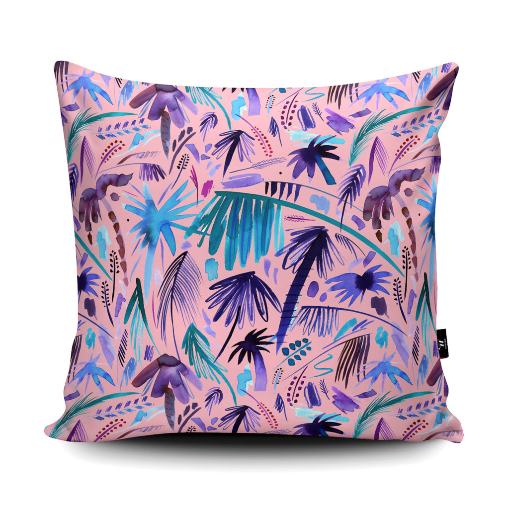 Tropical Expressive Palms Pink