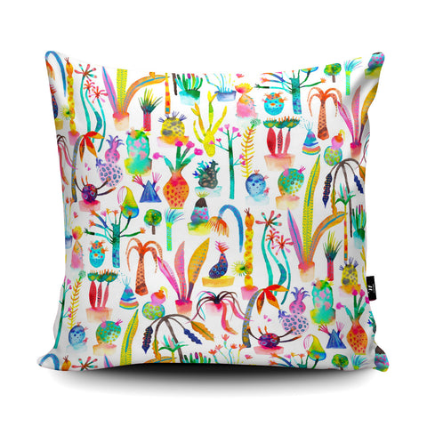 Lush Garden Cushion by Ninola Design