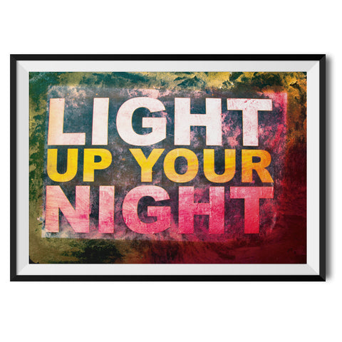 Light Up Your Night Original Print by Oliver Kersh