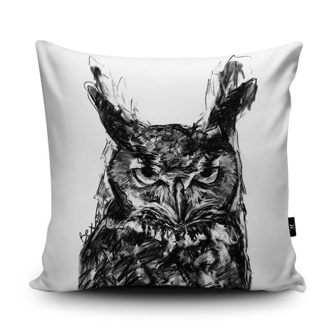 Owl Cushion by Bex Williams